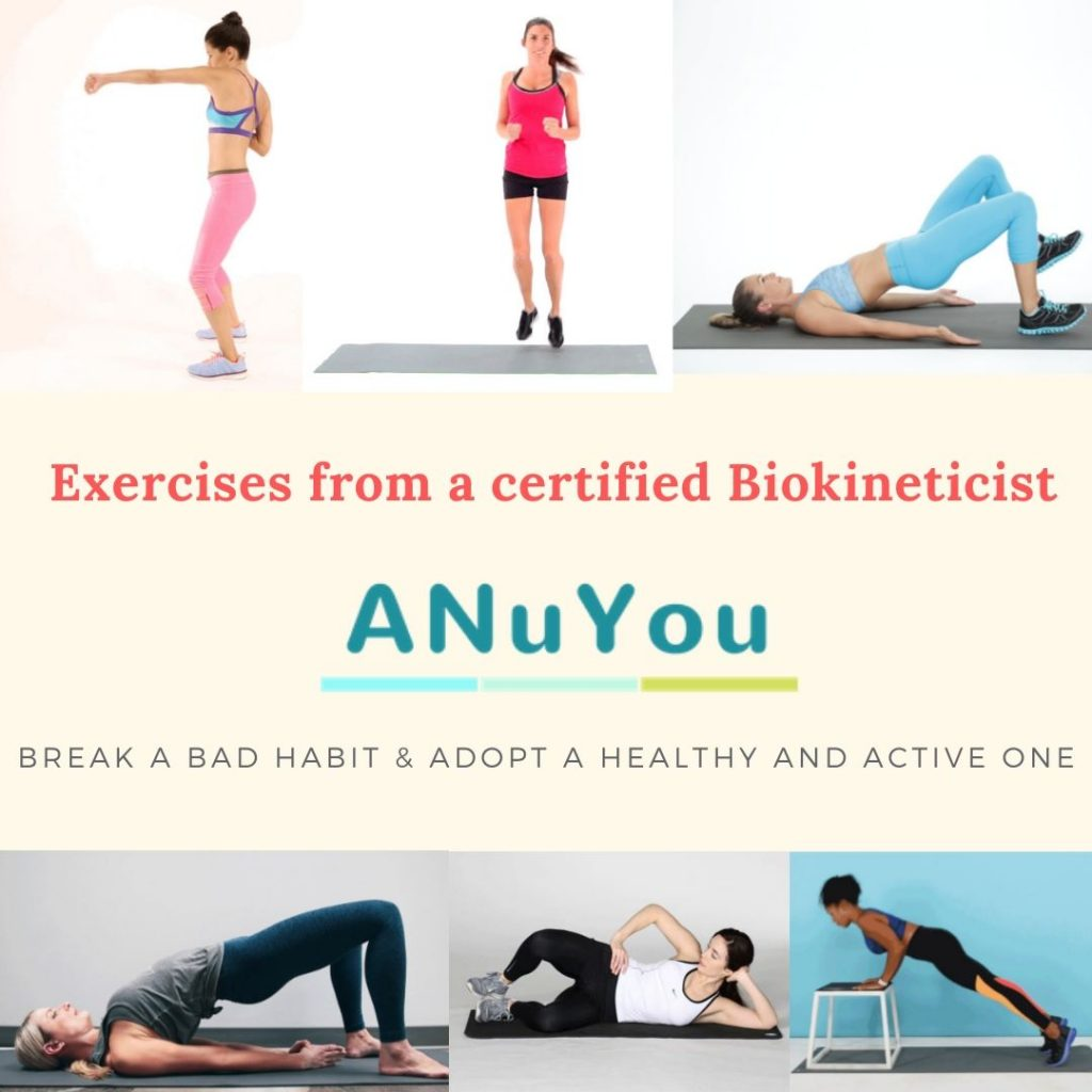 Safe exercises from a Certified Biokineticist