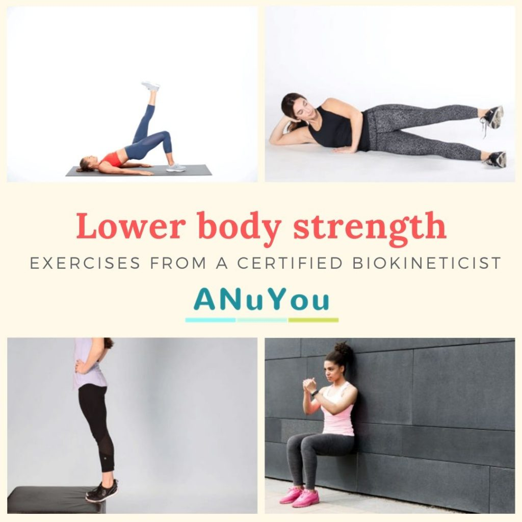 Lower body strength exercise from a Certified Biokineticist